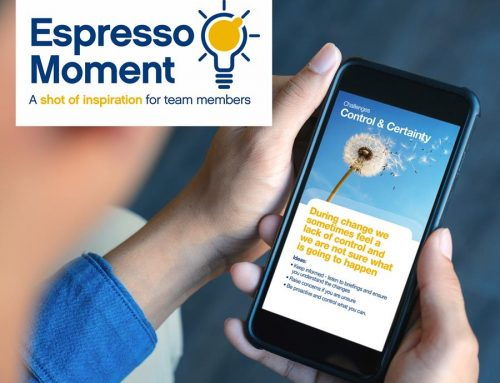Espresso Moment: A shot of inspiration delivered on your Smart Phone