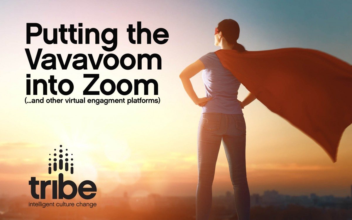 Vavavoom-headline Part 1: Putting the Vavavoom into Zoom… and other virtual engagement platforms.
