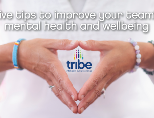 Five tips to improve your team's mental health and wellbeing